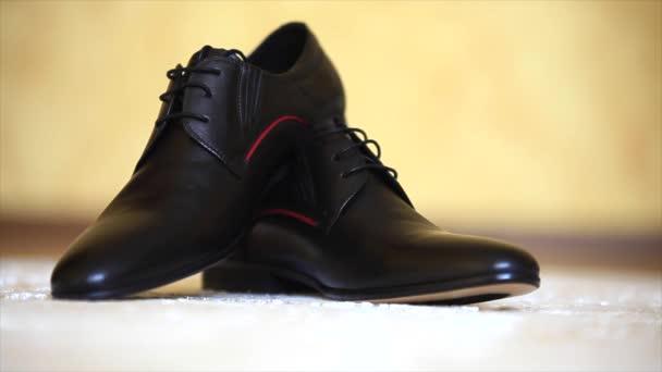 de pisar negro alfombra marrón estilo con de la Zapatos cuero dwgxqnOdH