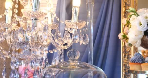 ročník křišťálové lampy podrobnosti