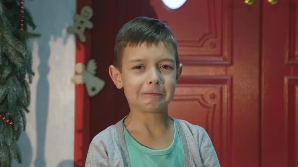 Ritratto di un bambino che piange