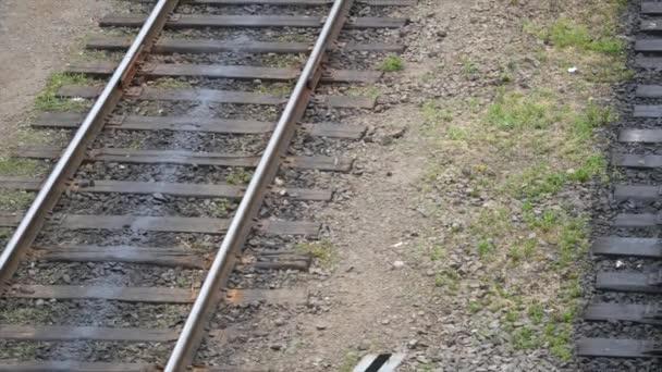 a vasúti pálya része közelről