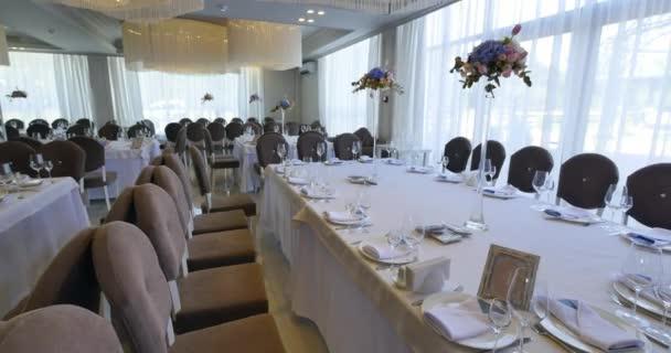 schöne servieren exquisite Hochzeitstisch