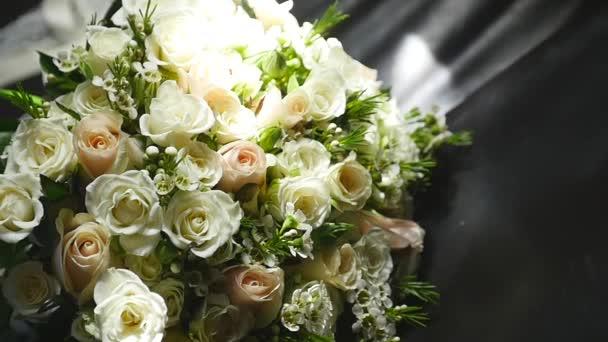 detail svatební kytice