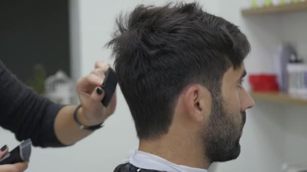 Close Up Barber Haircut Clipper Stock Video Andrew282 173017008