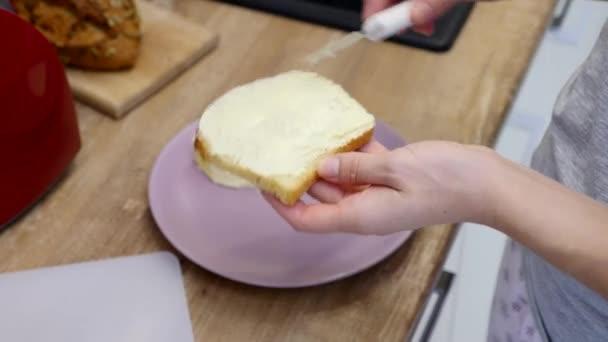 Snídaně. Sendvič. Toast s máslem. Máslo. Přípitek. Jam. ráno. Káva. Upravená Sequence.Family snídaně
