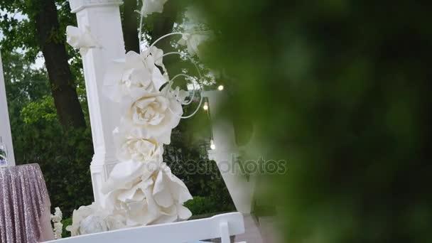Svatebni Kvetinova Vyzdoba Klenby Svatebni Oblouk Zdobena Kvetinami