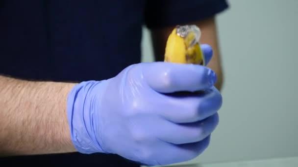 Condom putting video
