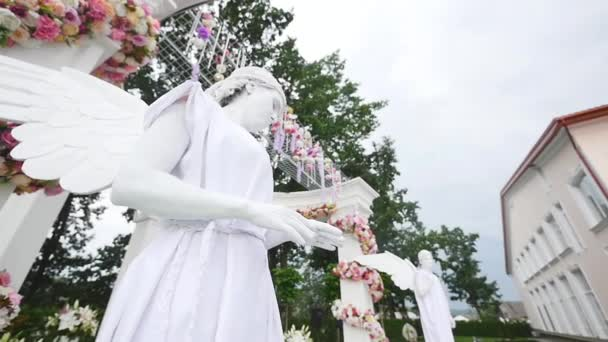 Hochzeit Bogen Fur Die Zeremonie Lebende Statuen Fur Ihre
