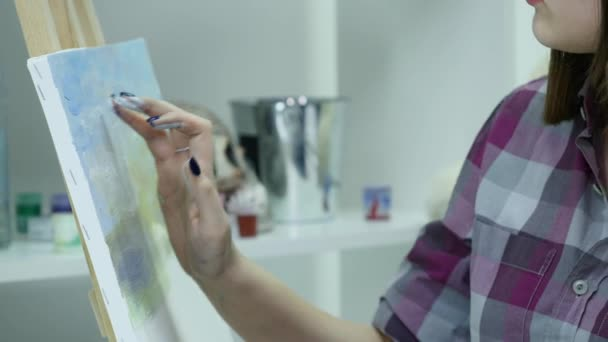 artista belle pitture su tela