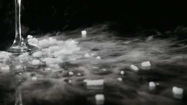 Trockeneisrauchen, Sublimierung von Trockeneis