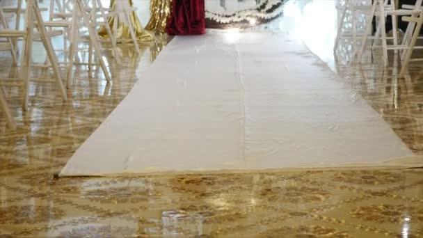 decorazione di nozze, il luogo della cerimonia di nozze, cerimonia nuziale, arco, decorazioni di nozze