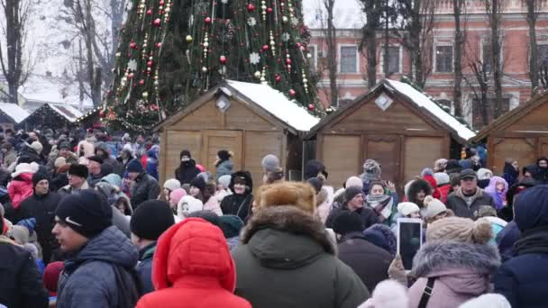 Chernivtsi - Ukraine - January 15, 2018 The traditional annual days of Christmas folklore-