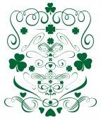 Fényképek A Szent Patricks nap zöld látványelemek