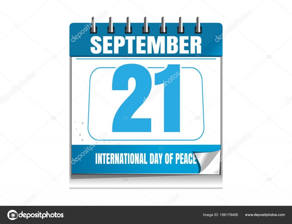 Calendario Internazionale.Giornata Internazionale Della Pace Calendario Da Parete