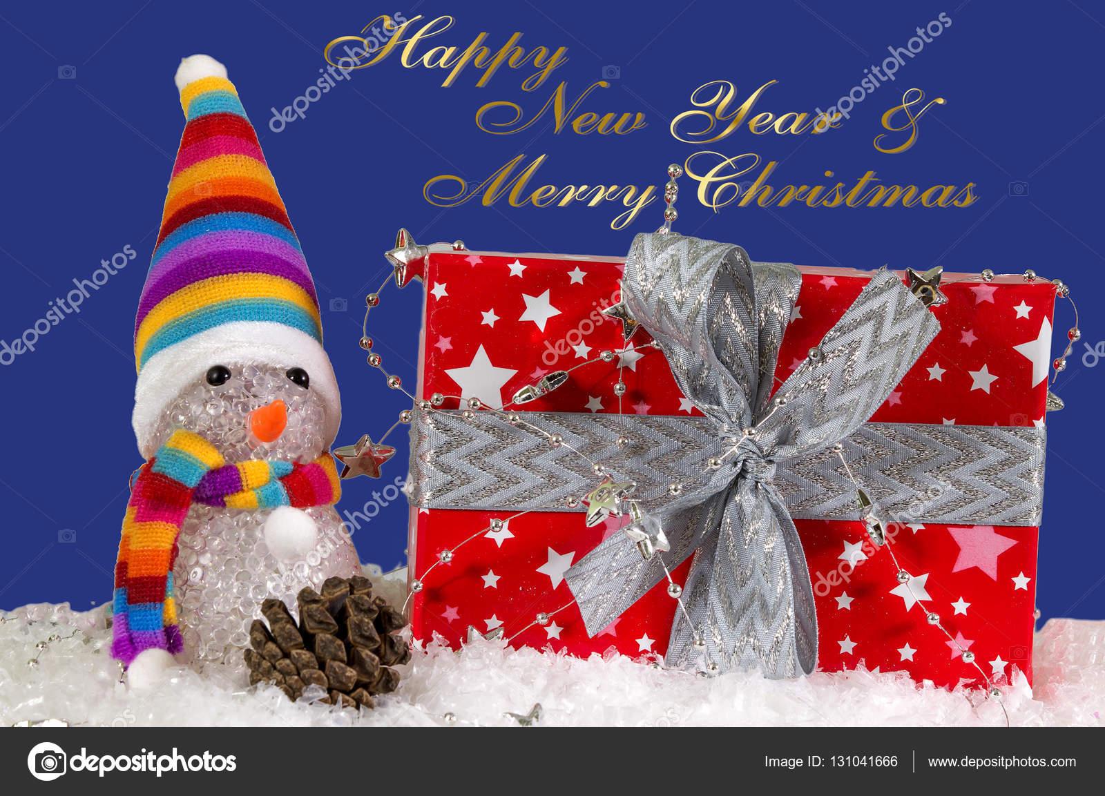 fröhlich Weihnachten und Neujahr — Stockfoto © orlankap.mail.ru ...