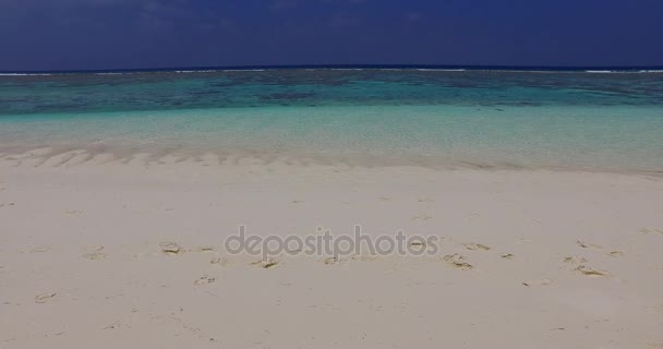 v02068 Maldives beautiful beach background white sandy tropical paradise island with blue sky sea water ocean 4k