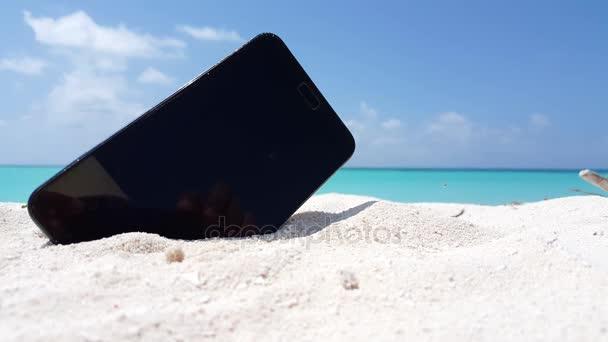 V01447 Isola Di Paradiso Tropicale Di Sabbia Bianca Di Sfondo Bella