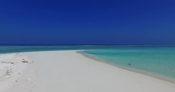 v01768 Maledivy krásné pláže pozadí bílé písečné tropický ráj ostrov s modrou oblohu moře vody oceánu 4k