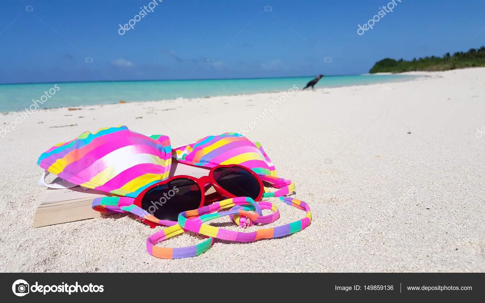 Playa Arena BikiniV00003 FondoIsla Maldivas Fondo Blanco E2H9IDYW
