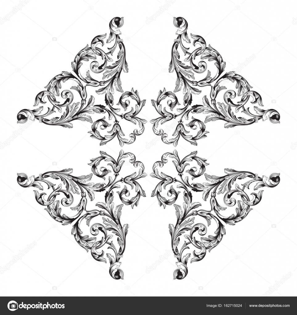 Vector Page Decorations Stock Vector C Acantstudio 162715024