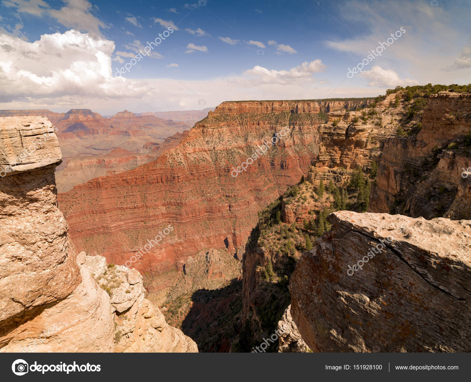 Scenic View Of Grand Canyon National Park Arizona Usa
