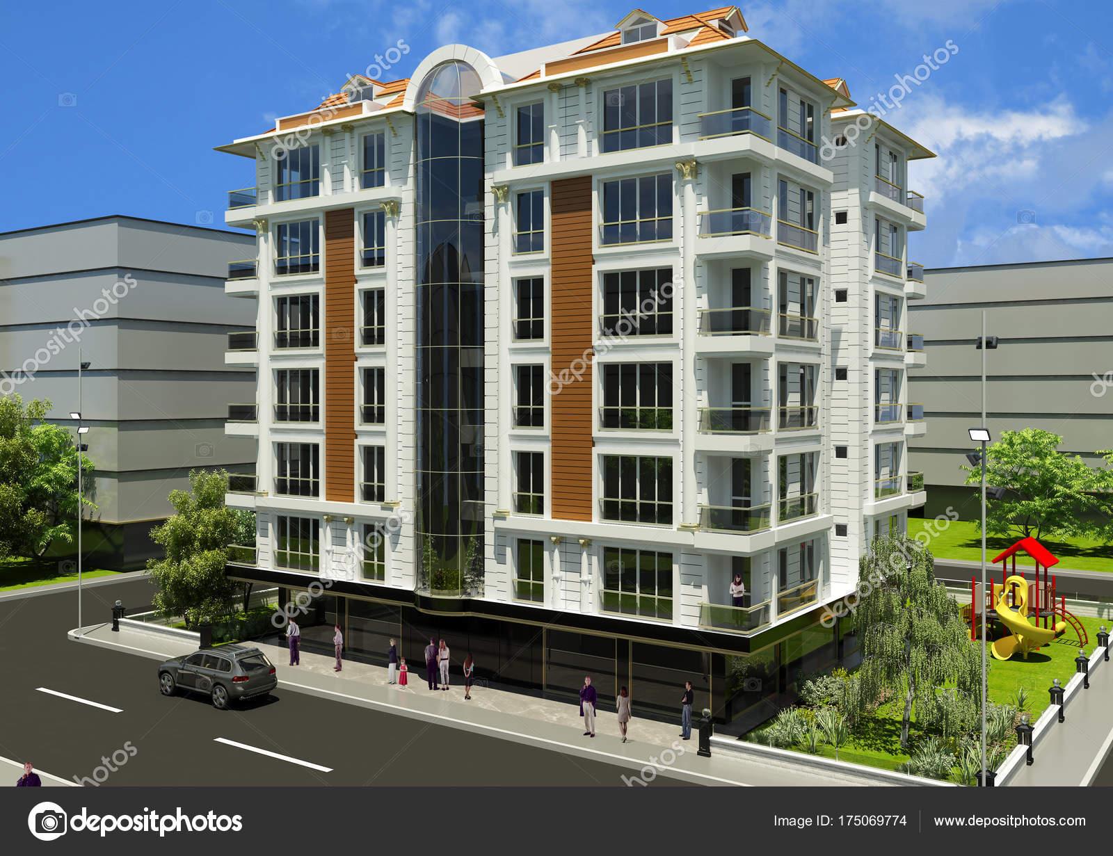 Fachadas de edificios modernos fachadas oficinas modernas for Fachadas de edificios modernos
