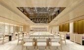 Fotografie 3d render of luxury hotel dinner room