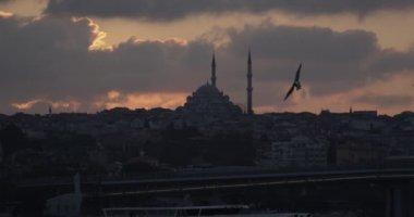 silueta istanbul bosphorus s mešita