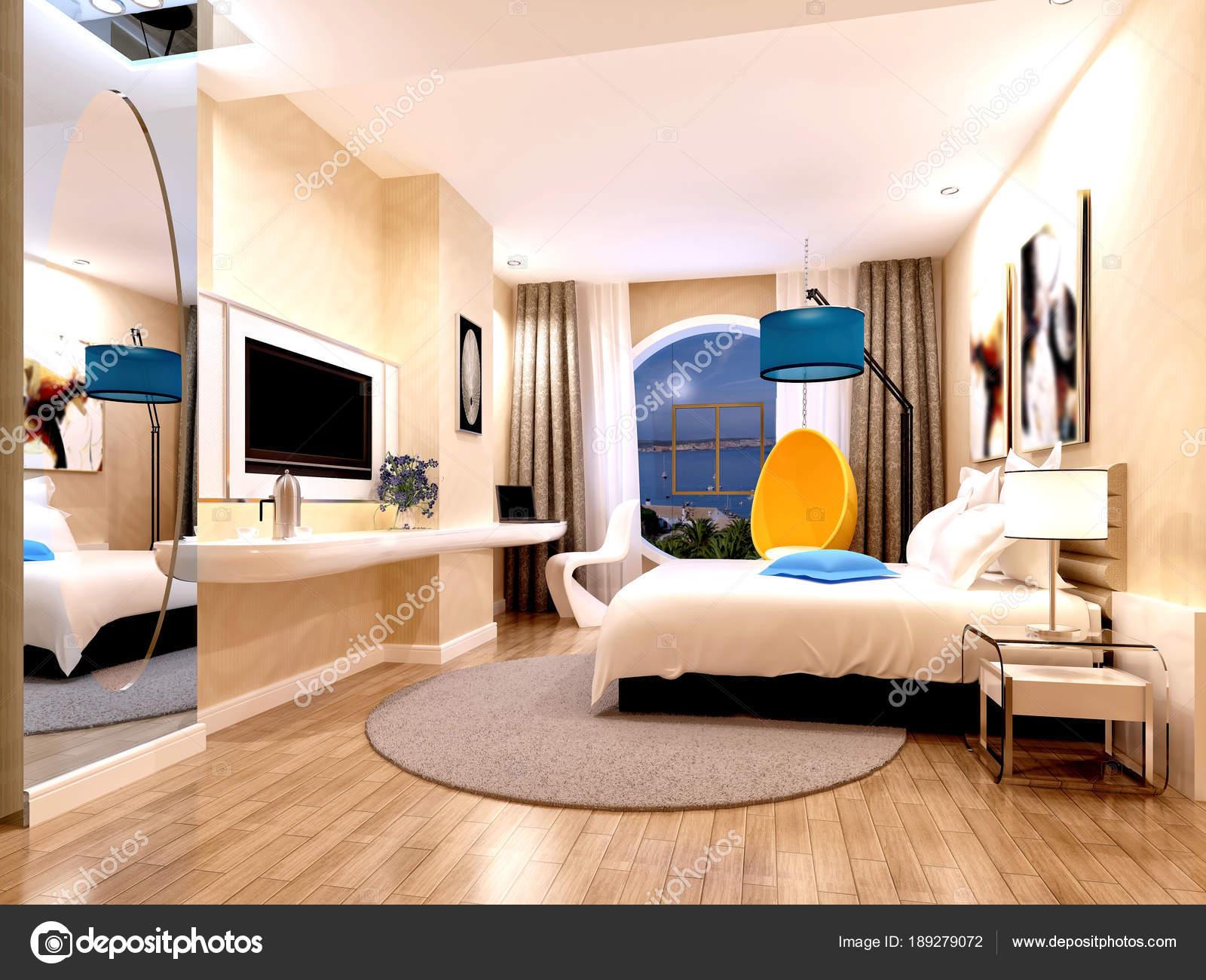 Rendu Chambre Hotel Luxe Moderne Photographie Mtellioglu C 189279072