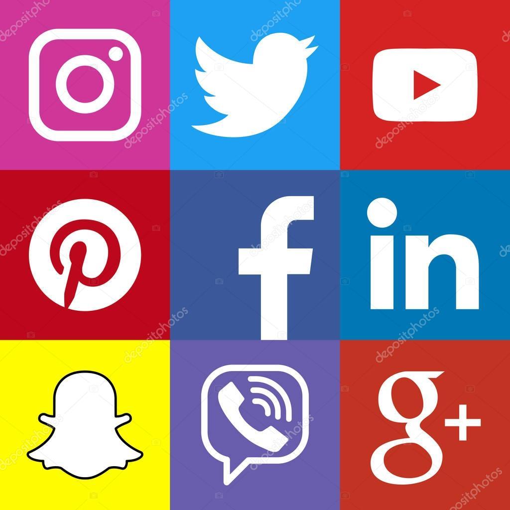 logo carr u00e9 social media ou m u00e9dias sociaux ic u00f4ne mod u00e8le d u00e9fini  bouton web de r u00e9seau social