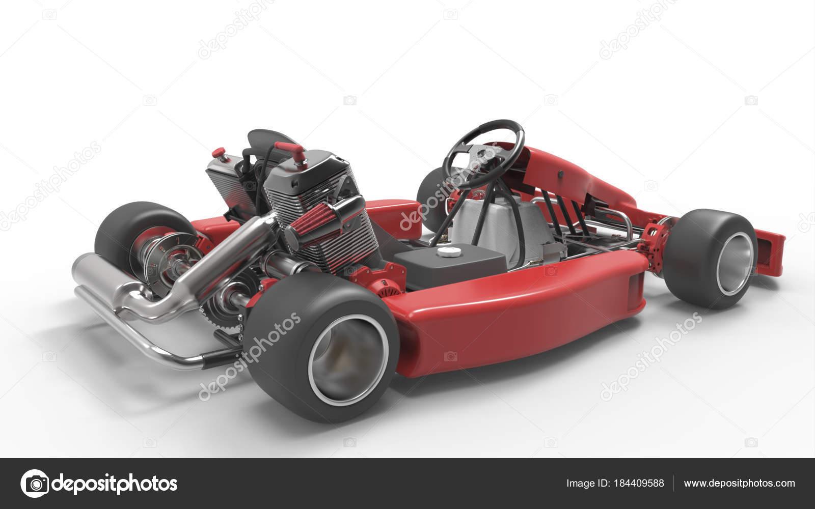 Go Kart Car Karting 3d Rendering Stock Photo C Andrija Pajtic