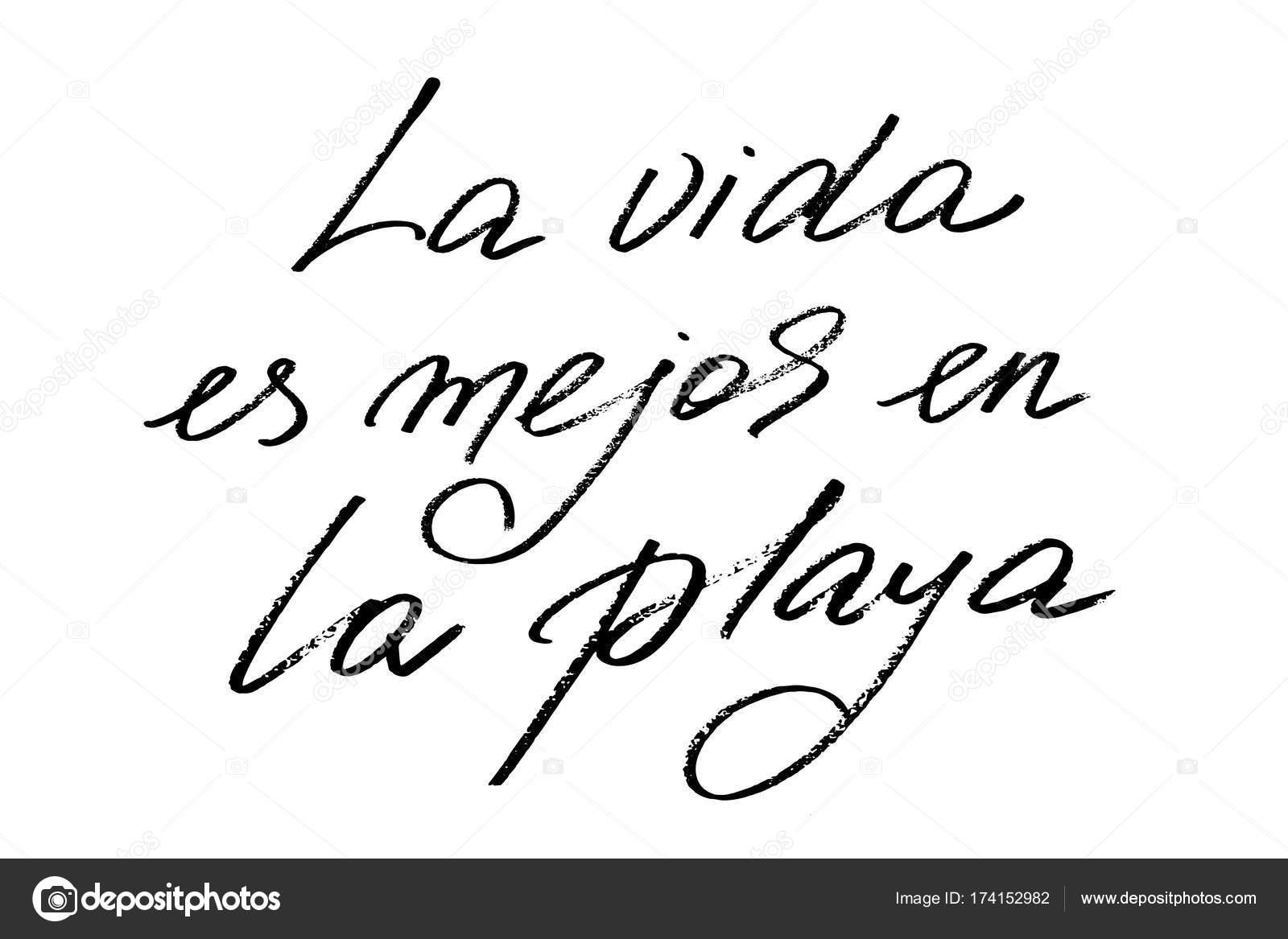 Imágenes Para Espanol La Frase En Español La Vida Es