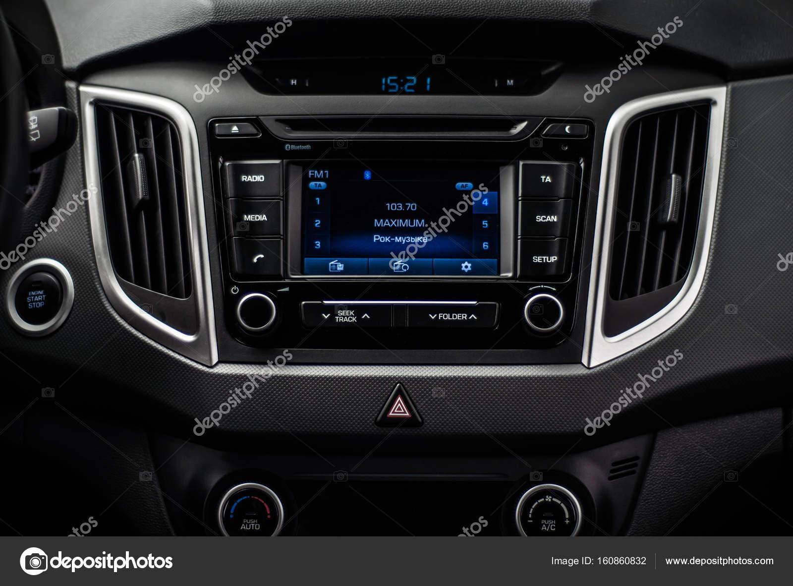 MOSCOW, RUSSIA - JUNE 25, 2017 Hyundai Creta / Hyundai ix25