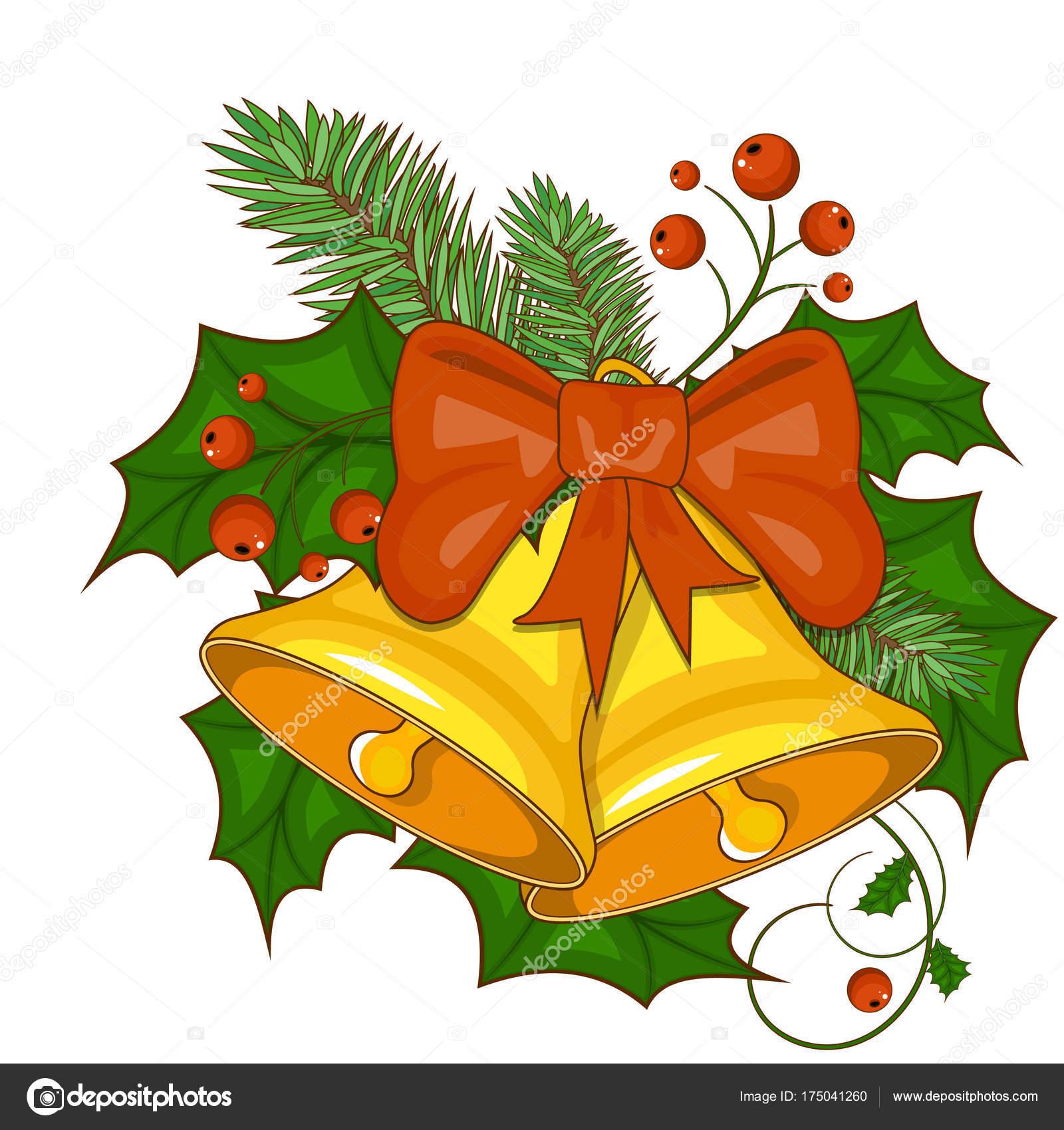 Dibujos Campanas De Navidad A Color Ilustración De