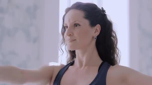 Fitness sport girl dancing