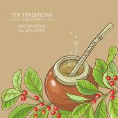 Mate čaj v tykev