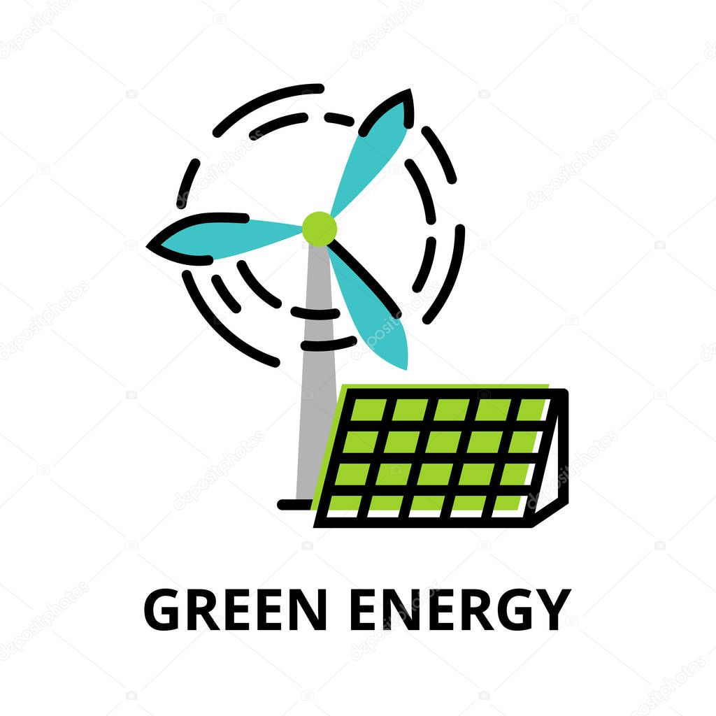 Concept of Green Energy, technologies of future