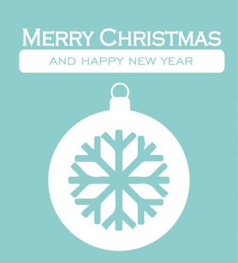 Snowflake Christmas Card