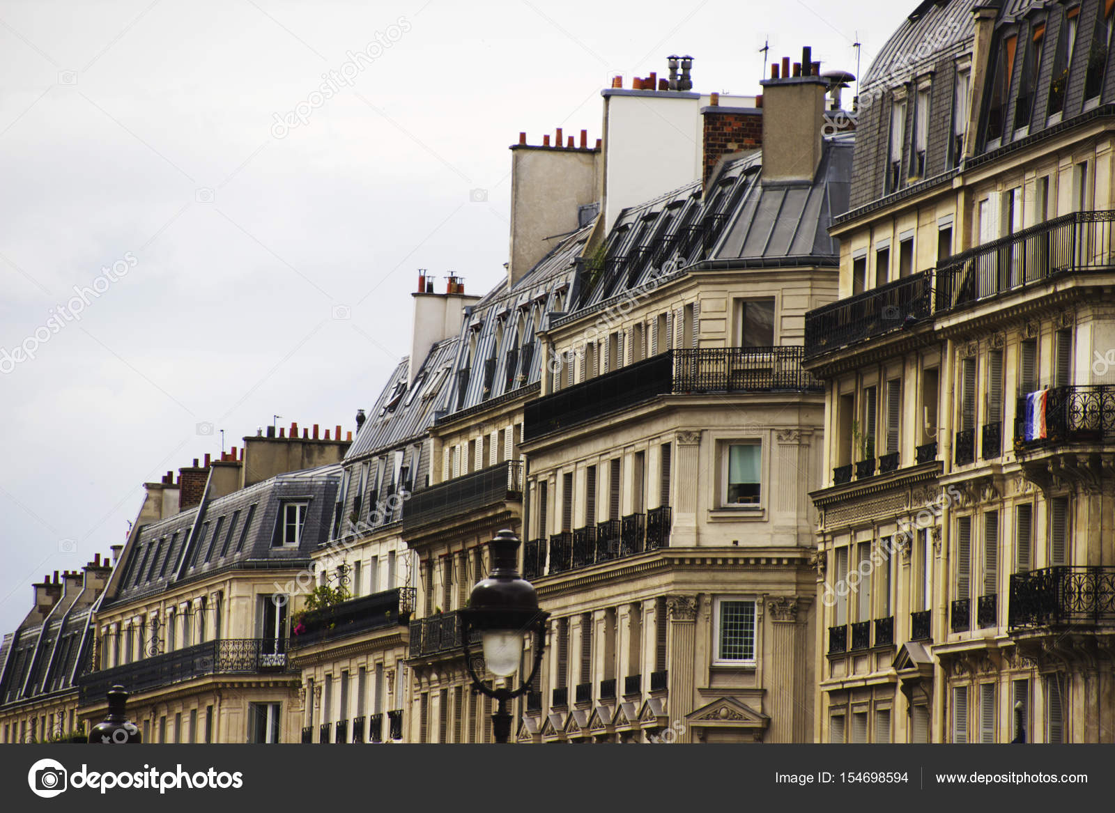 Traditional French Architecture House In Paris Parisian Building Typical Generic Houses