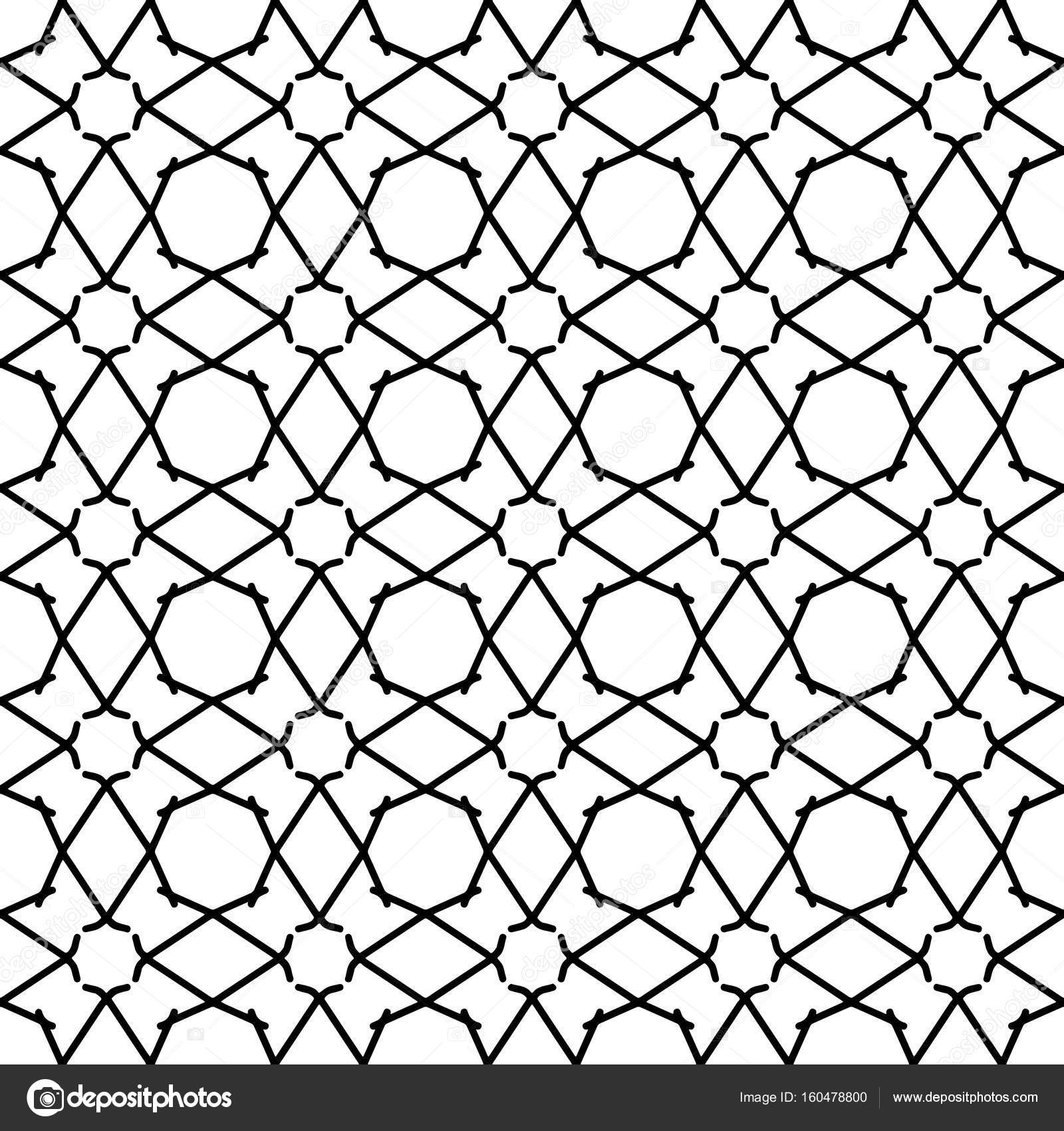 Abstract patterns Black and white — Stock Vector © TAMSAMTAM #160478800