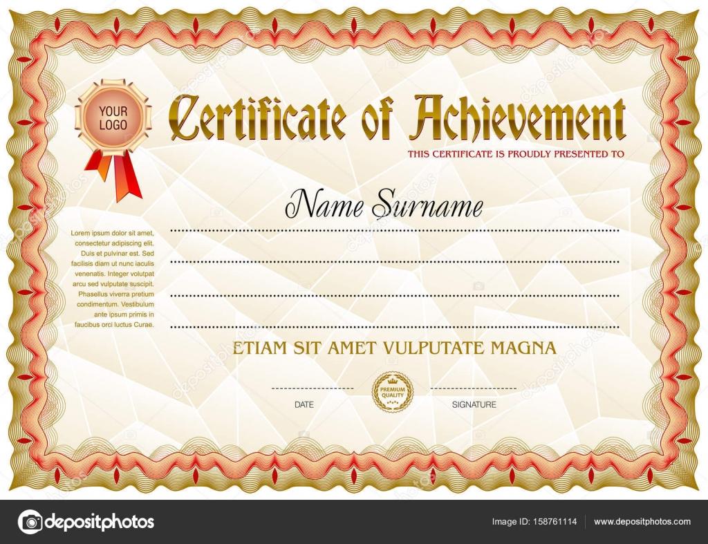 Certificate blank template stock vector tedgun 158761114 certificate blank template with vintage frame border vector by tedgun yadclub Images