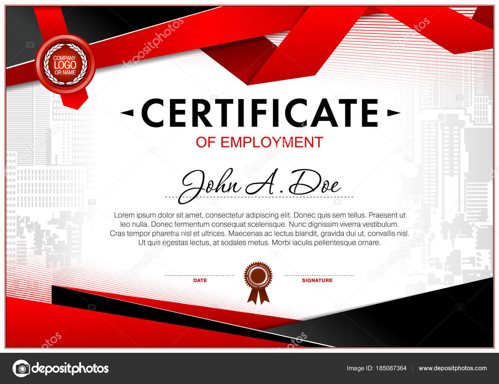 certificate blank template design can use award other official