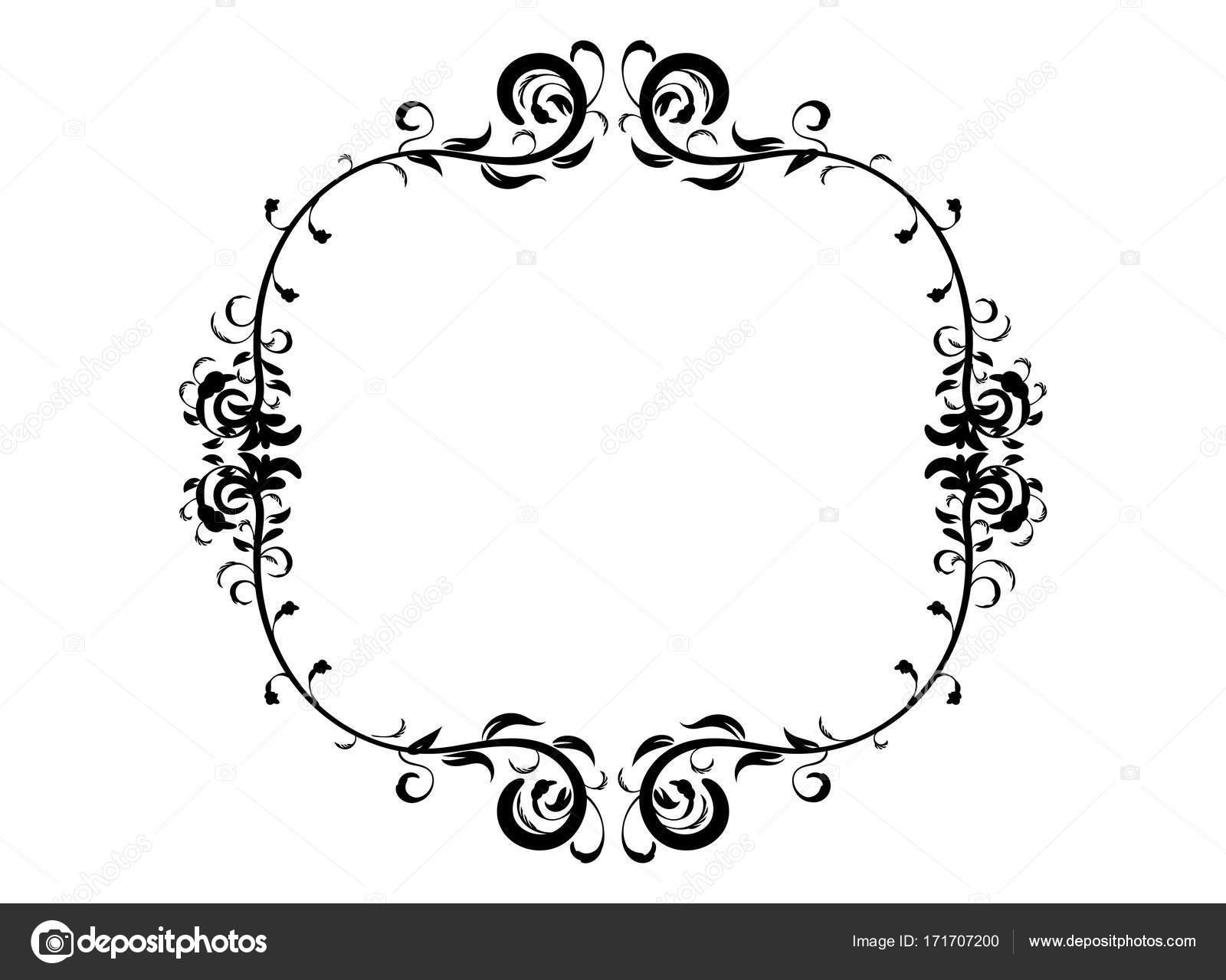 Vintage Blumenmuster Rahmen — Stockvektor © Infostocker #171707200