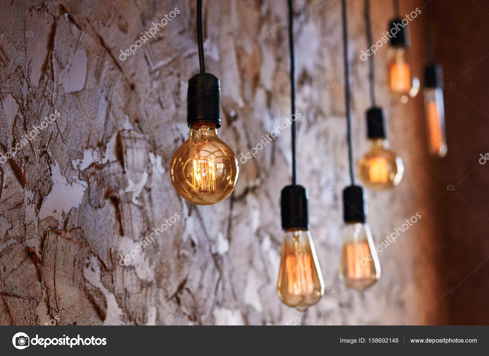 Schone Retro Vintage Lampen Leuchten Hell Leuchtstofflampe Die Im