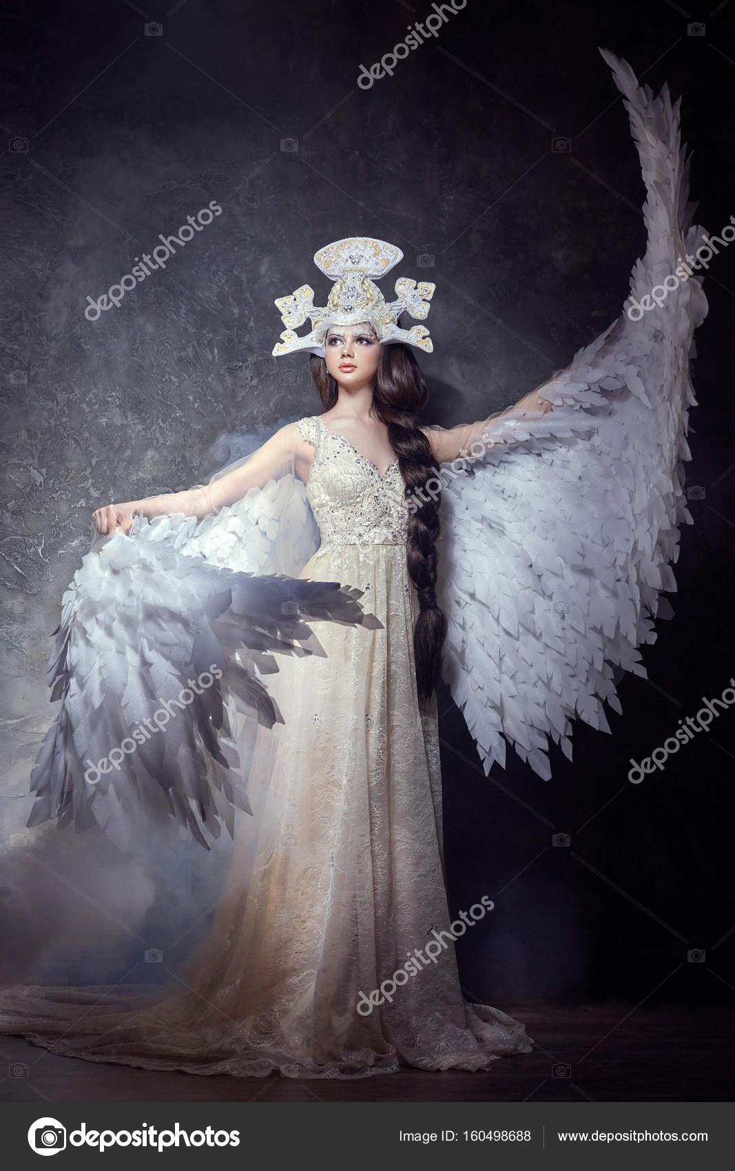 Angeles Mujeres Hermosas Con Alas Niña De ángel Arte Con Imagen De