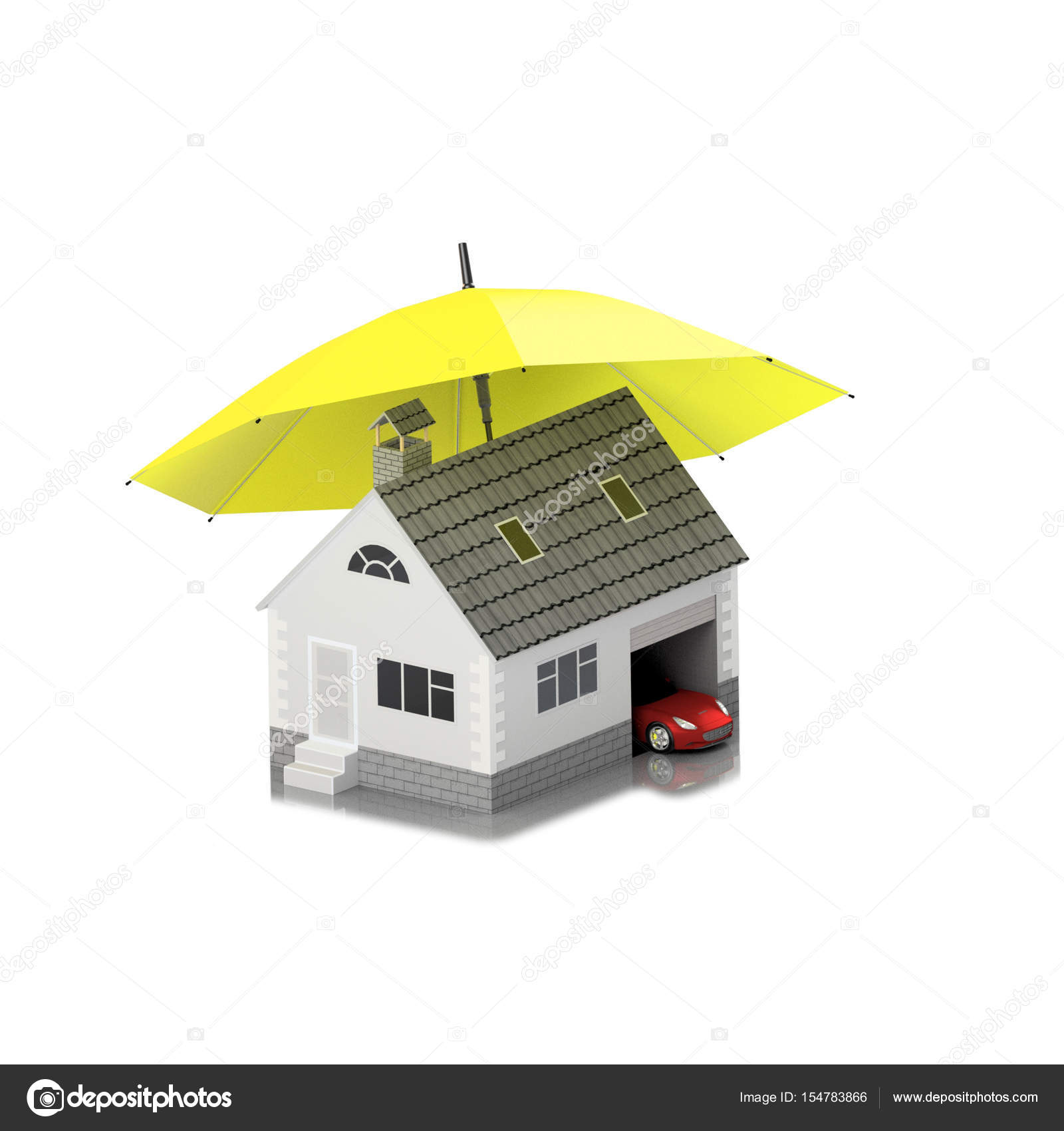 Verzekering Huis Huis Leven De Bescherming Van De Auto Het Kopen