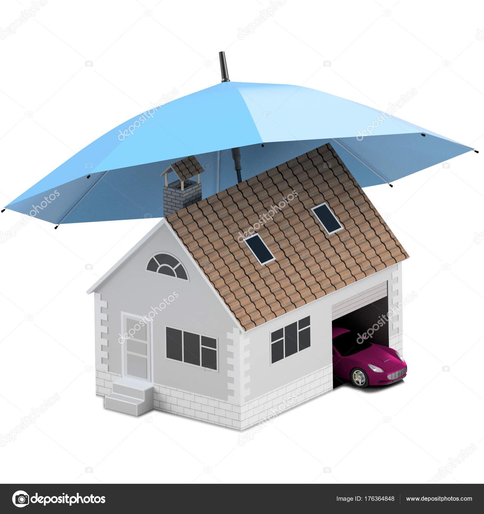 Verzekering Huis Huis Leven Bescherming Van Auto Het Kopen Van