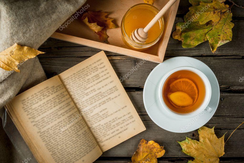 чай осень фото книга