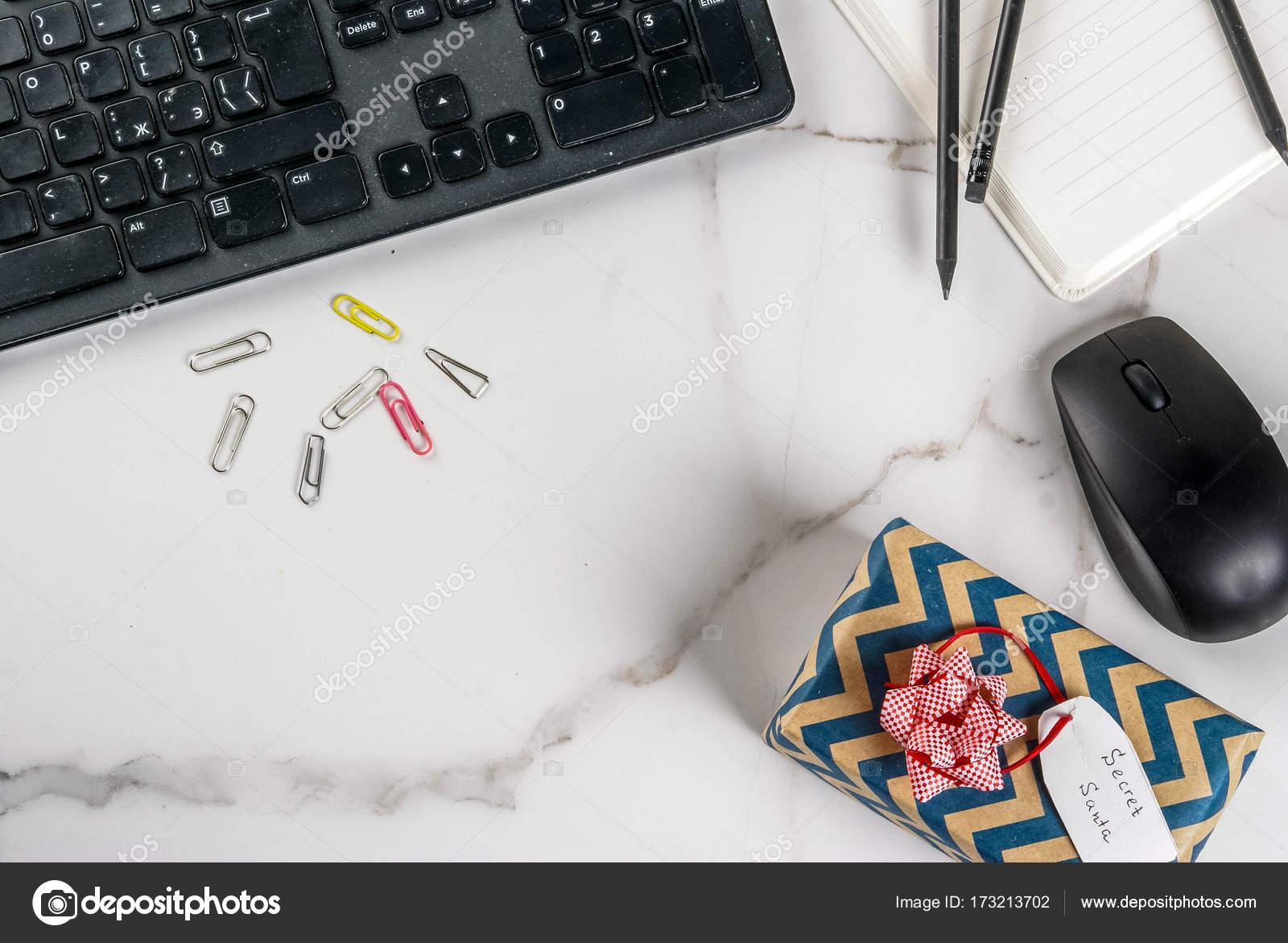 Office Christmas concept, secret Santa — Stock Photo © unixx.0.gmail ...