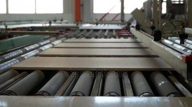 Producci n de baldosa cer mica transportador f brica con for Fabrica de baldosas en santiago