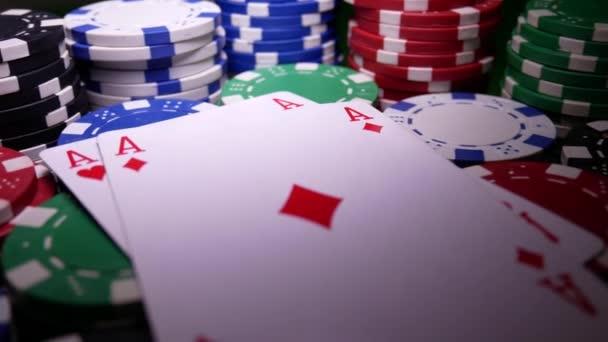 Dvojité ESA na Poker Chips
